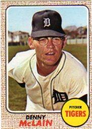 1968 Topps Card