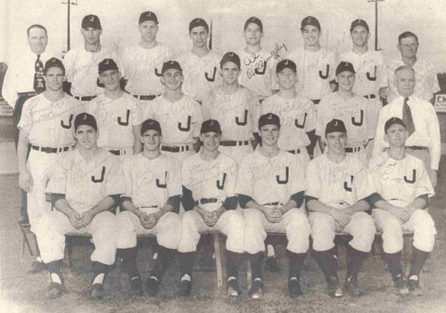 1950 Joplin Miners (Mickey on 2nd row 2nd player from right)